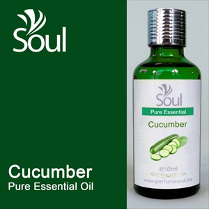 how to make cucumber essential oil